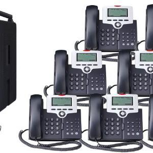 Titanium Metallic Xb1670 86 Xblue X16 Small Office Phone System 6 Line Digital Speakerphone